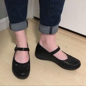 Dansko leather Mary Jane shoes